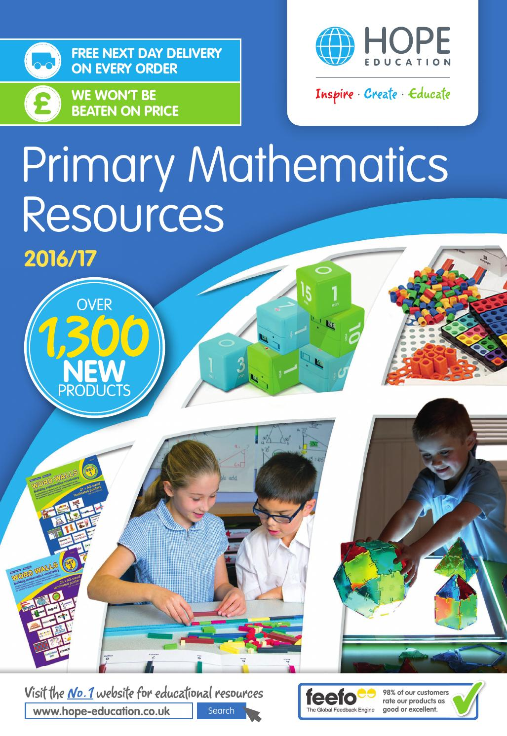 Hope Education Primary Mathematics Resources 2016/17 by Findel Ltd ...