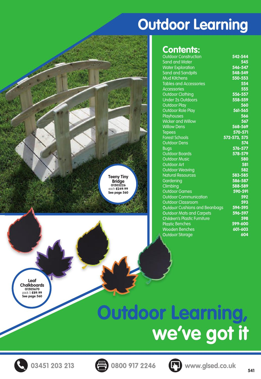 GLS Catalogue 2016/17 - Outdoor Learning by Findel Ltd - issuu