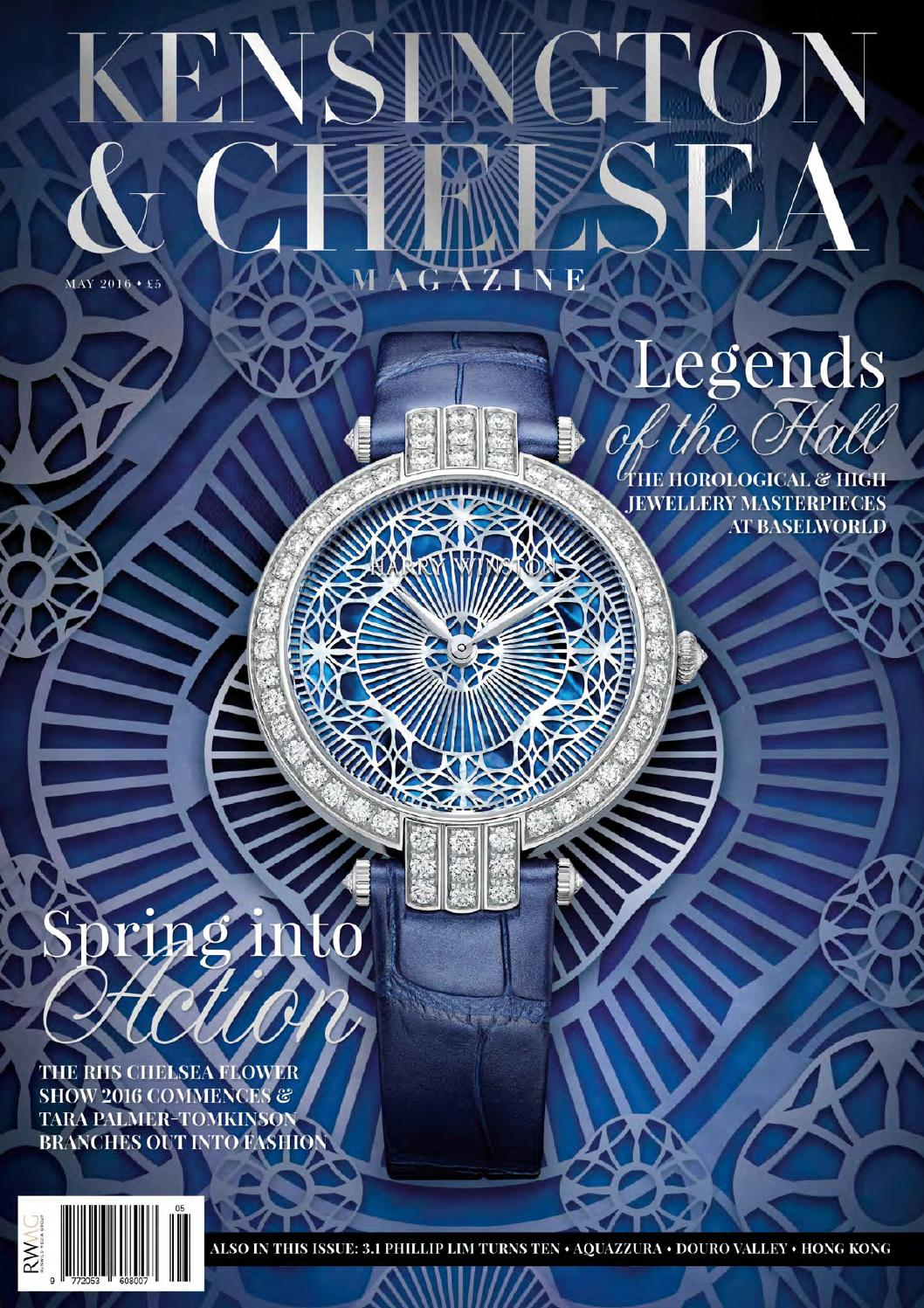 The Kensington u0026 Chelsea Magazine May 2016