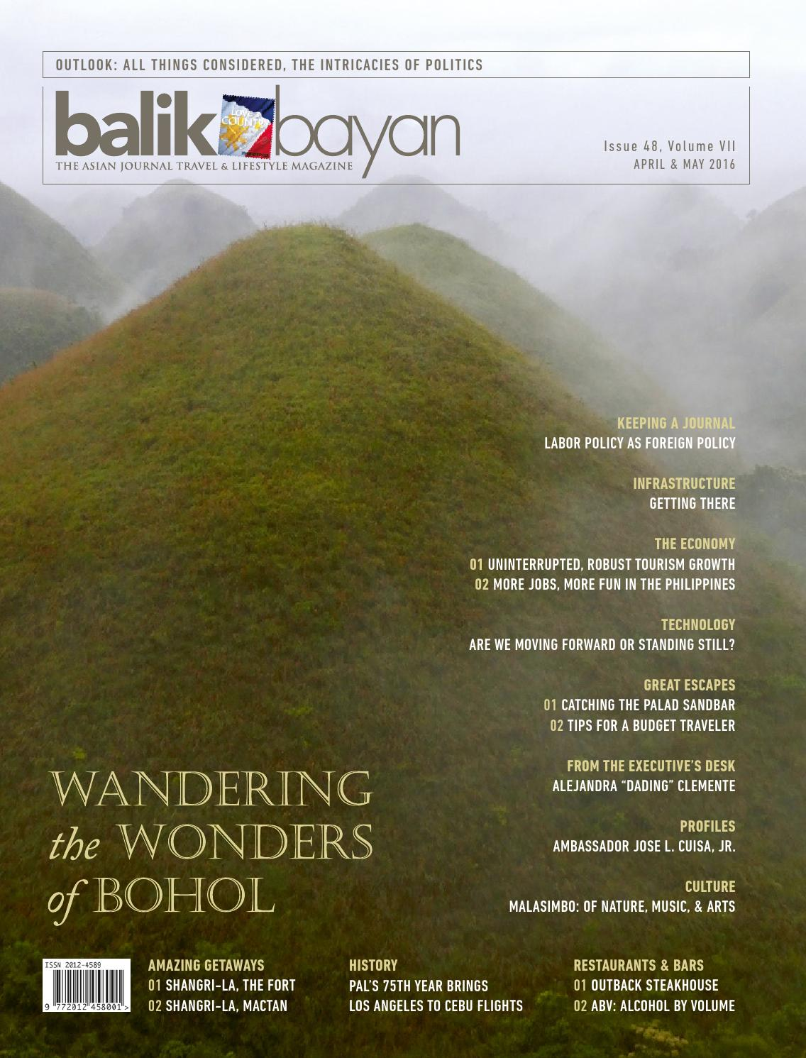 Balikbayan Magazine April May 2016 By Issuu Voucher Outback Steakhouse 200000