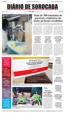 Edição de 12 de abril de 2016 by DIÁRIO DE SOROCABA - issuu 36e2567802e3b