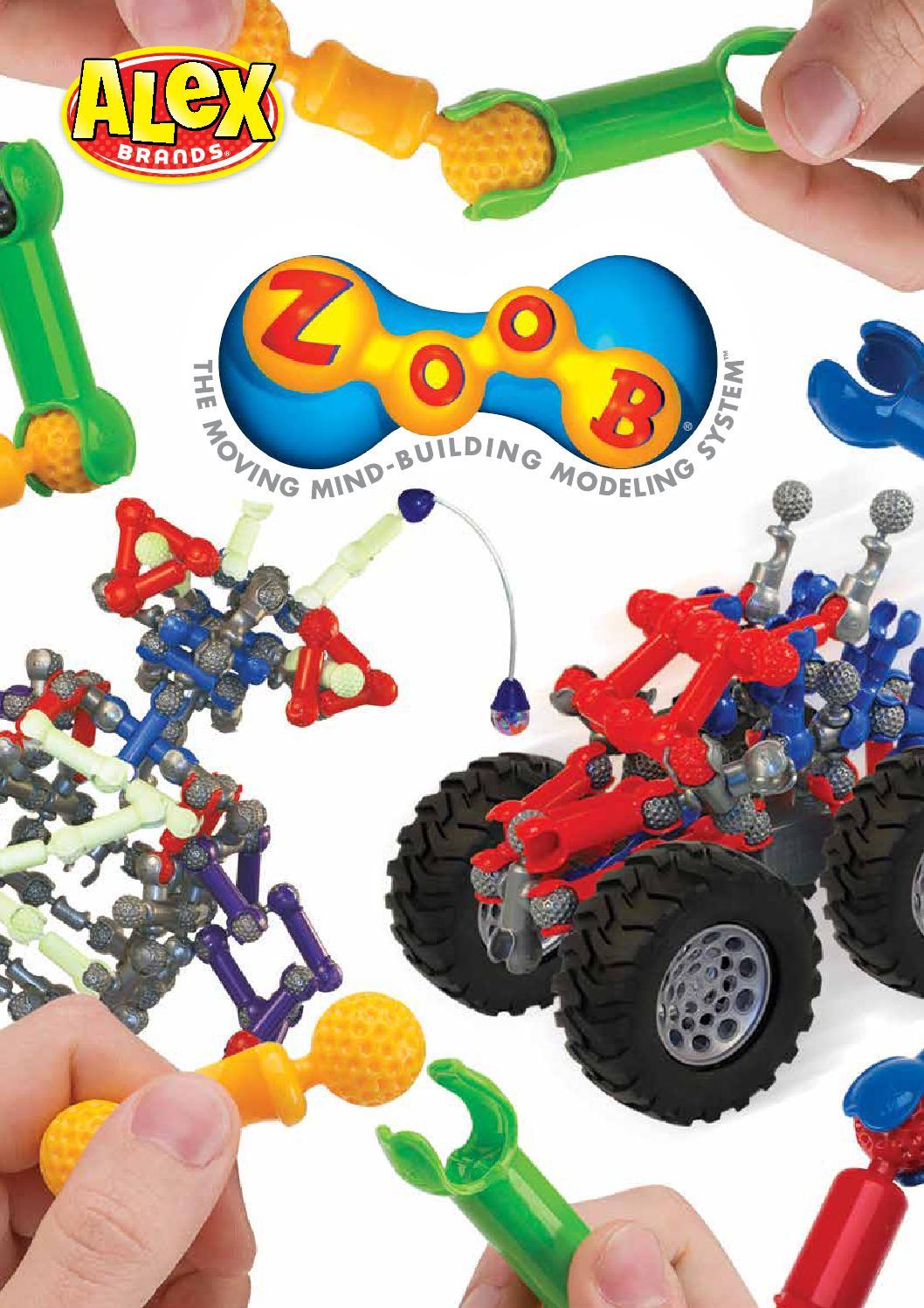 Alex Brands Zoob Builder Z 75 Pieces Building Set