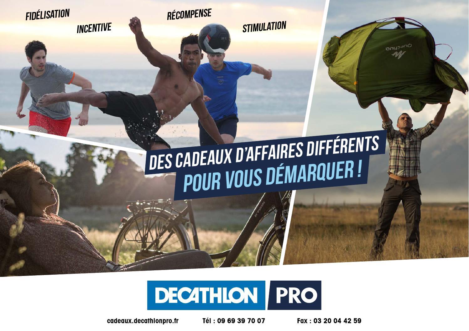 Catalogue Cadeaux d affaires 2016 Decathlon Pro by Decathlon Pro - issuu b69d016b724