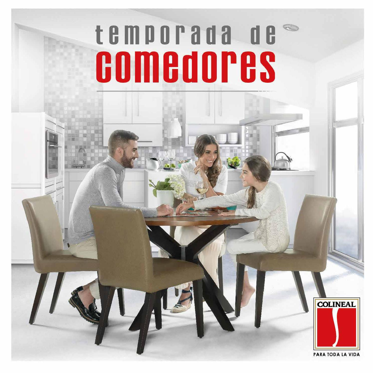 Cat logo de comedores per by colineal issuu for Muebles peru catalogo