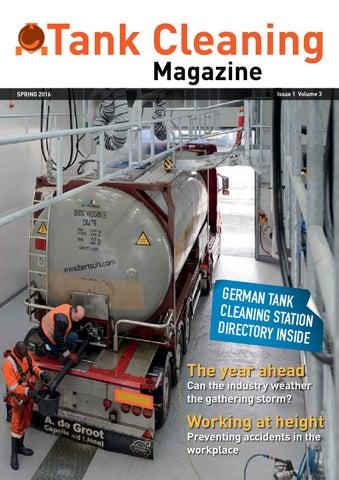 Tank Cleaning Magazine Spring 2016 By Woodcote Media Ltd