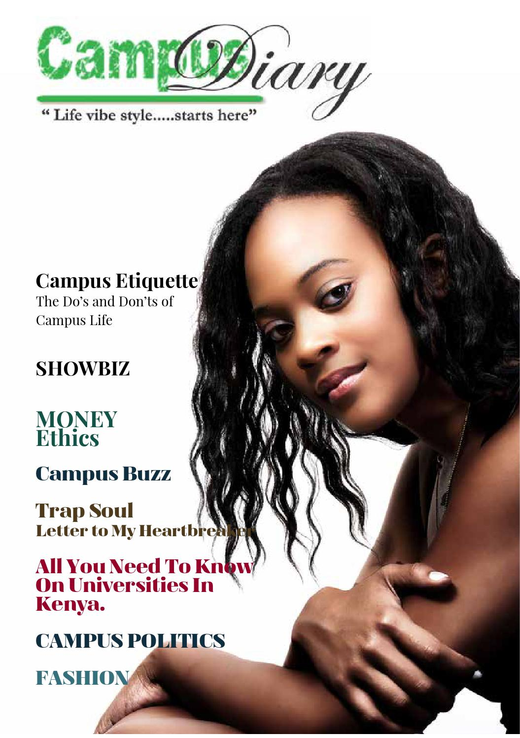 Campus diary 1st Magazine by Campus Diary - issuu
