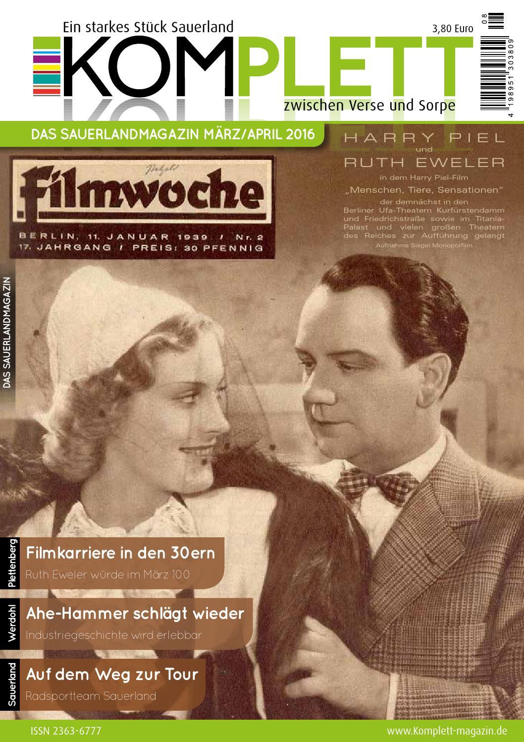 Komplett Das Sauerlandmagazin - die komplette Ausgabe März/April ...