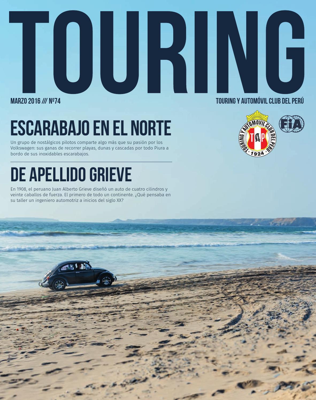 Revista Touring Edición 74 by Revista Touring Oficial - issuu