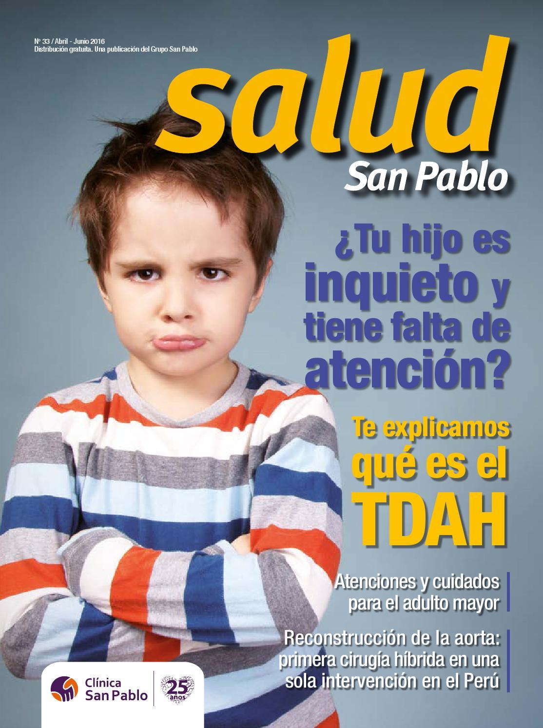 Revista San Pablo Salud N°33 by San Pablo - issuu