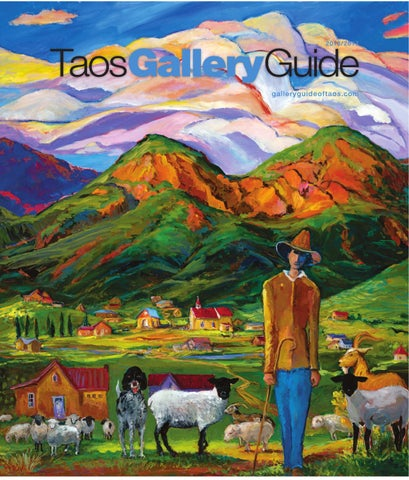 Taos gallery guide 2016 2017 by the taos news issuu page 1 publicscrutiny Gallery