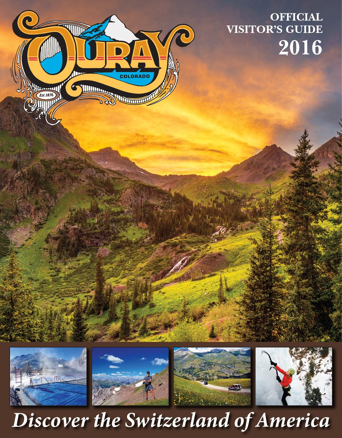 Ouray - Official Visitors Guide 2016 by Ballantine Communications ...