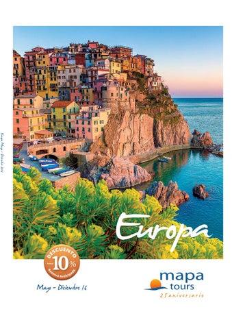 Mapa tours europa 2016