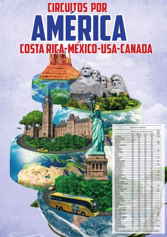 Europamundo circuitos america mexico