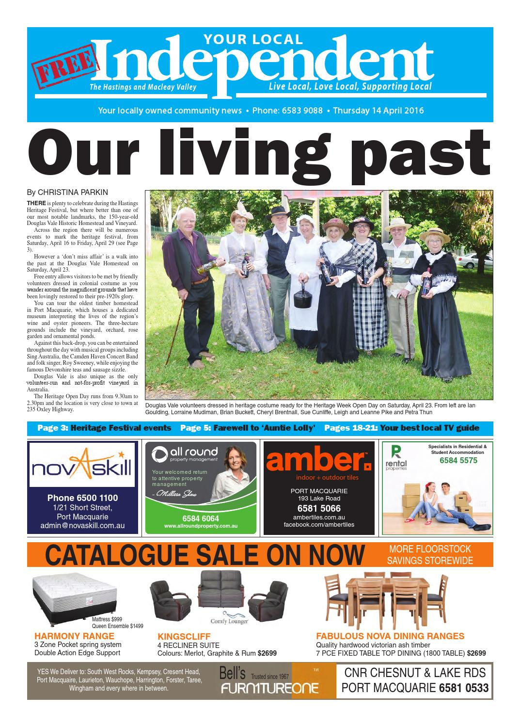 Your Local Independent 14 April 2016 By