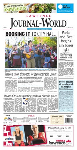4fc25c8cc2f Lawrence Journal-World 04-13-2016 by Lawrence Journal-World - issuu