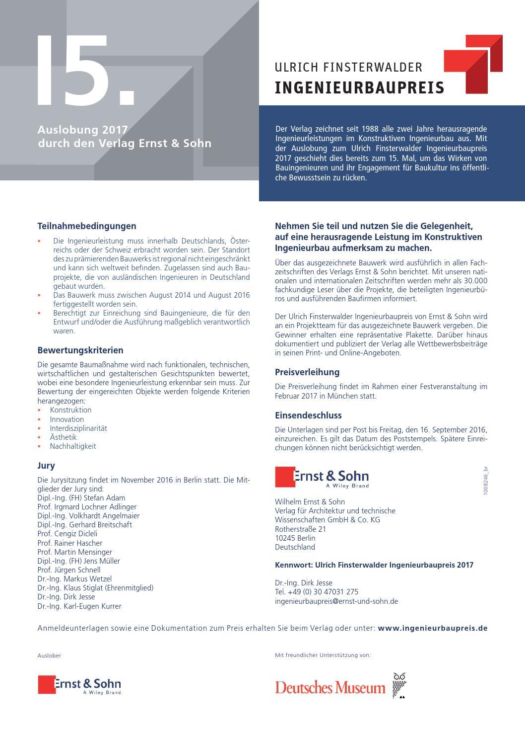 geotechnik 01/2016 free sample copy by Ernst & Sohn - issuu