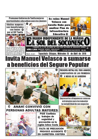 851a2d82aa Promueve Gobierno de Tuxtla mejores Se reúne Manuel oportunidades  educativas para los jóvenes Velasco con Adultos mayores 7 Aurelio Nuño para  son ...