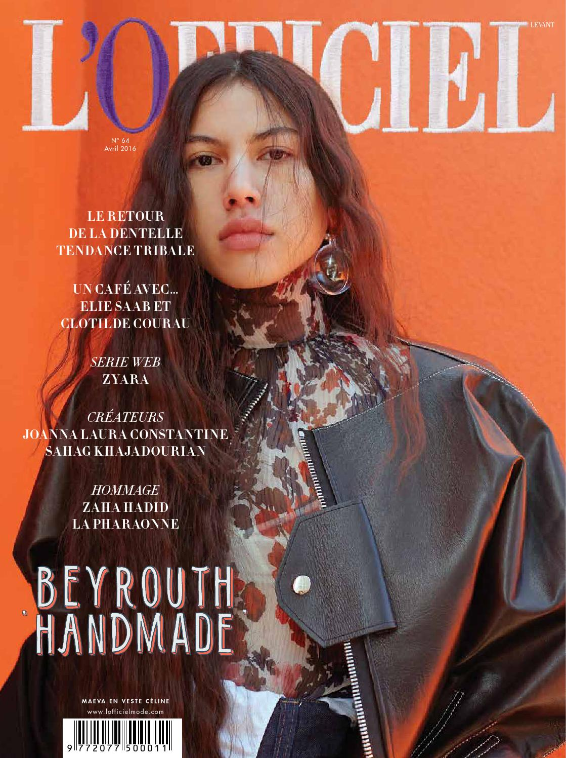 April 64 L'officiel Levant Issue By Issuu Levant BOxWq5wCf