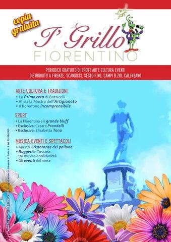 Grillo Fiorentino n 7 del 18 aprile 2016 by CHIMERALAB - issuu 7bfa14e31de