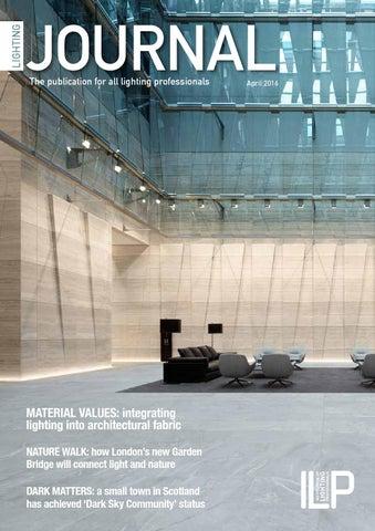 Page 1. LIGHTING & Lighting Journal April 2016 by Matrix Print Consultants Ltd - issuu