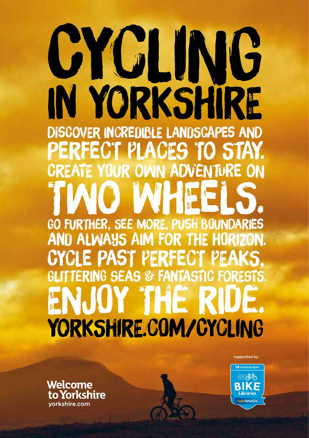 Cycling in Yorkshire Guide 2016 by Welcome to Yorkshire - issuu