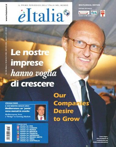 èitalia 63 – Il Primo Periodico dell Italia nel Mondo by èItalia - issuu adb6b82ae34