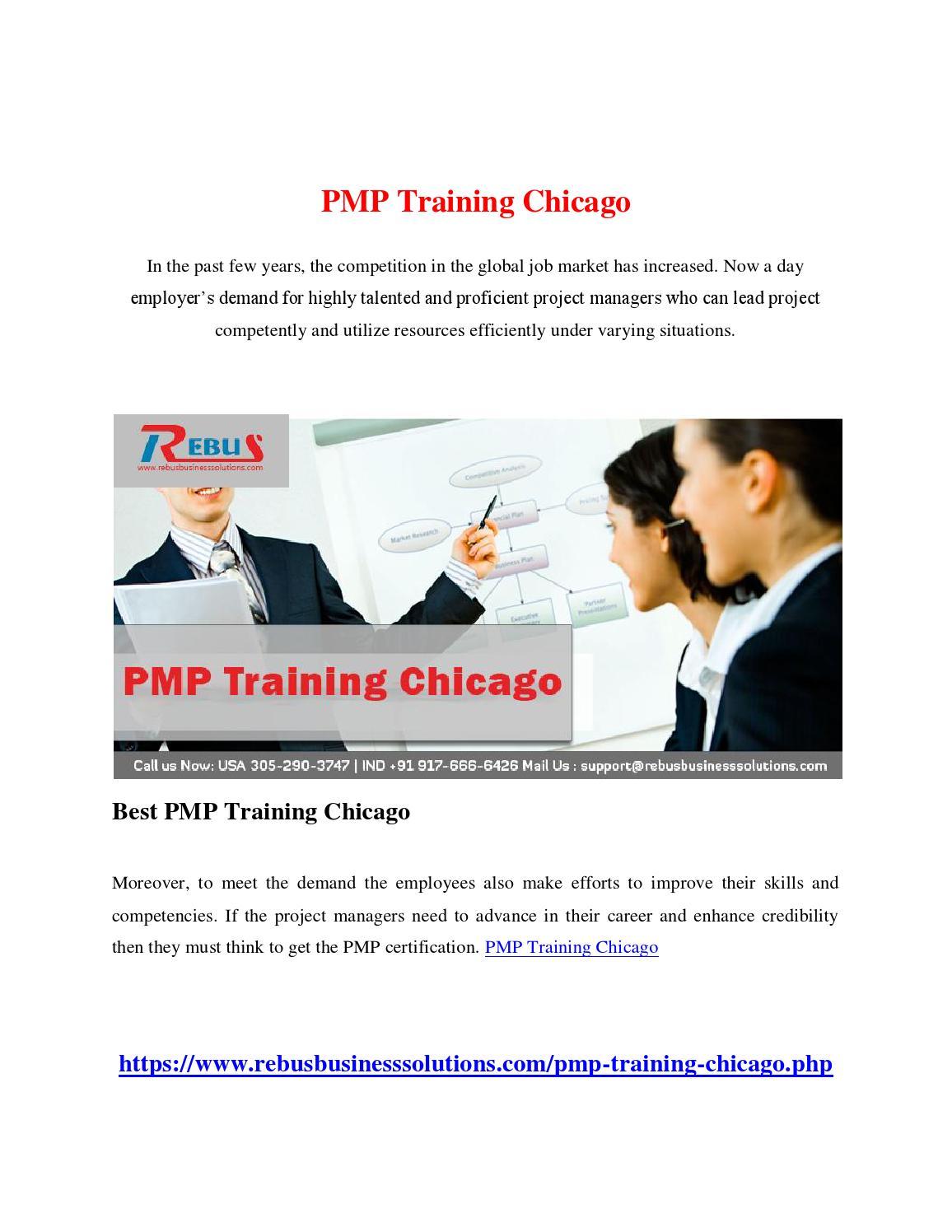 Pmp Training Chicago By Charlesch01 Issuu