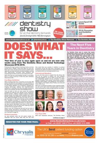 dentistry show preshow newspaper \u0026 launchpad by closerstill mediadentistry show preshow newspaper \u0026 launchpad
