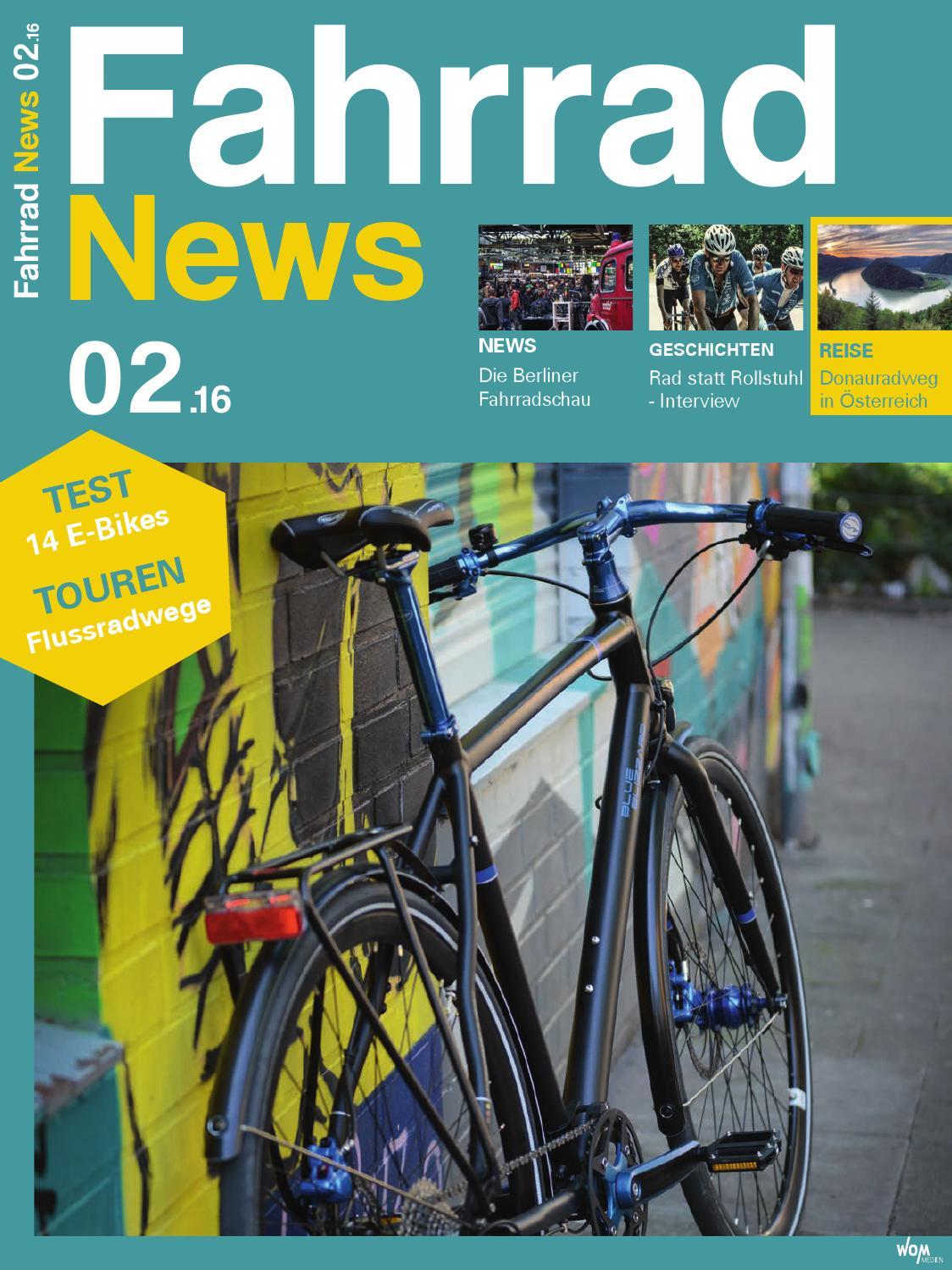 Fahrrad News 02.2016 by WOM Medien - issuu