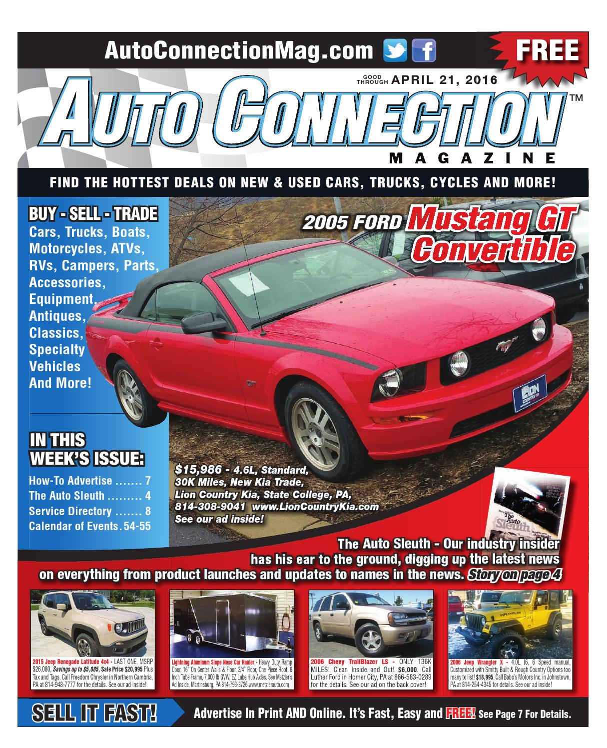 04 21 16 Auto Connection Magazine By Auto Connection
