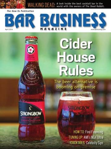 April 2016 Bar Business by Bar Business Magazine - issuu