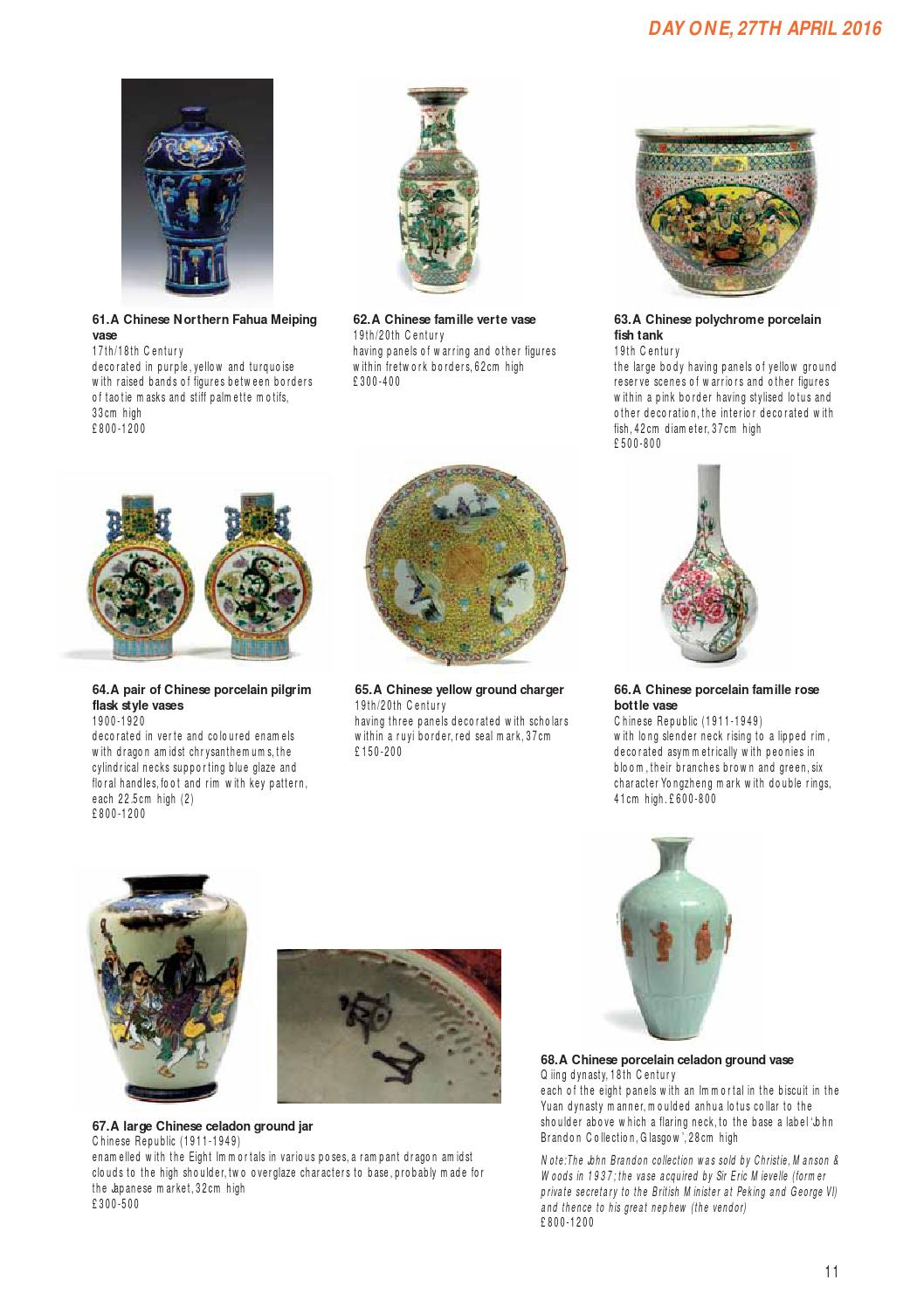Chinese, Japanese, Indian and Islamic Art - 27th & 28th