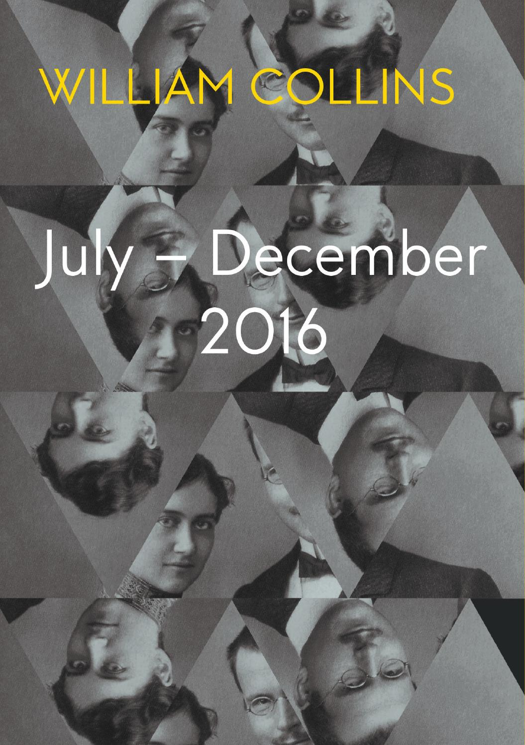 William Collins Catalogue Julydecember 2016 By 4th Estate Books  Issuu