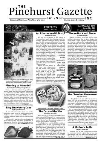 808e329978b0 The Pinehurst Gazette -- Issue 122 by The Pinehurst Gazette