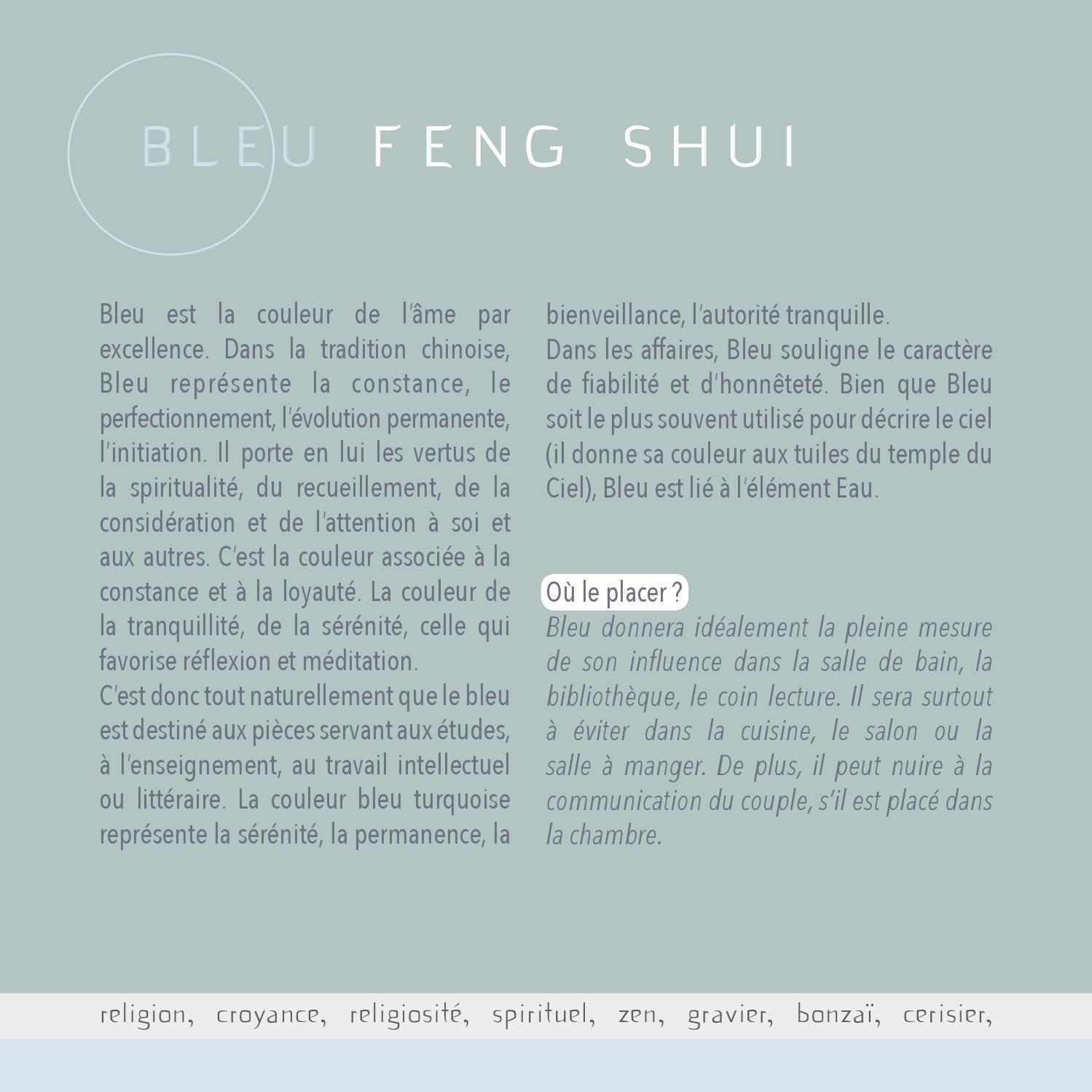 37 Couleur Feng Shui Couleurs Dharmonie By A3DC Atelier 3D