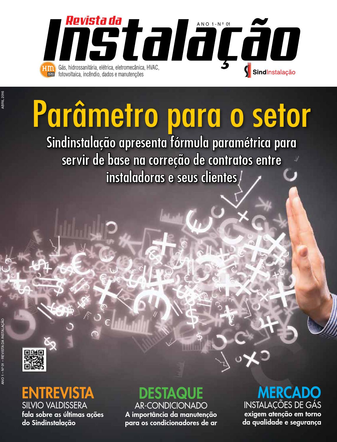 Revista Da Instala O Edi O 01 Abril De 2016 By Revista