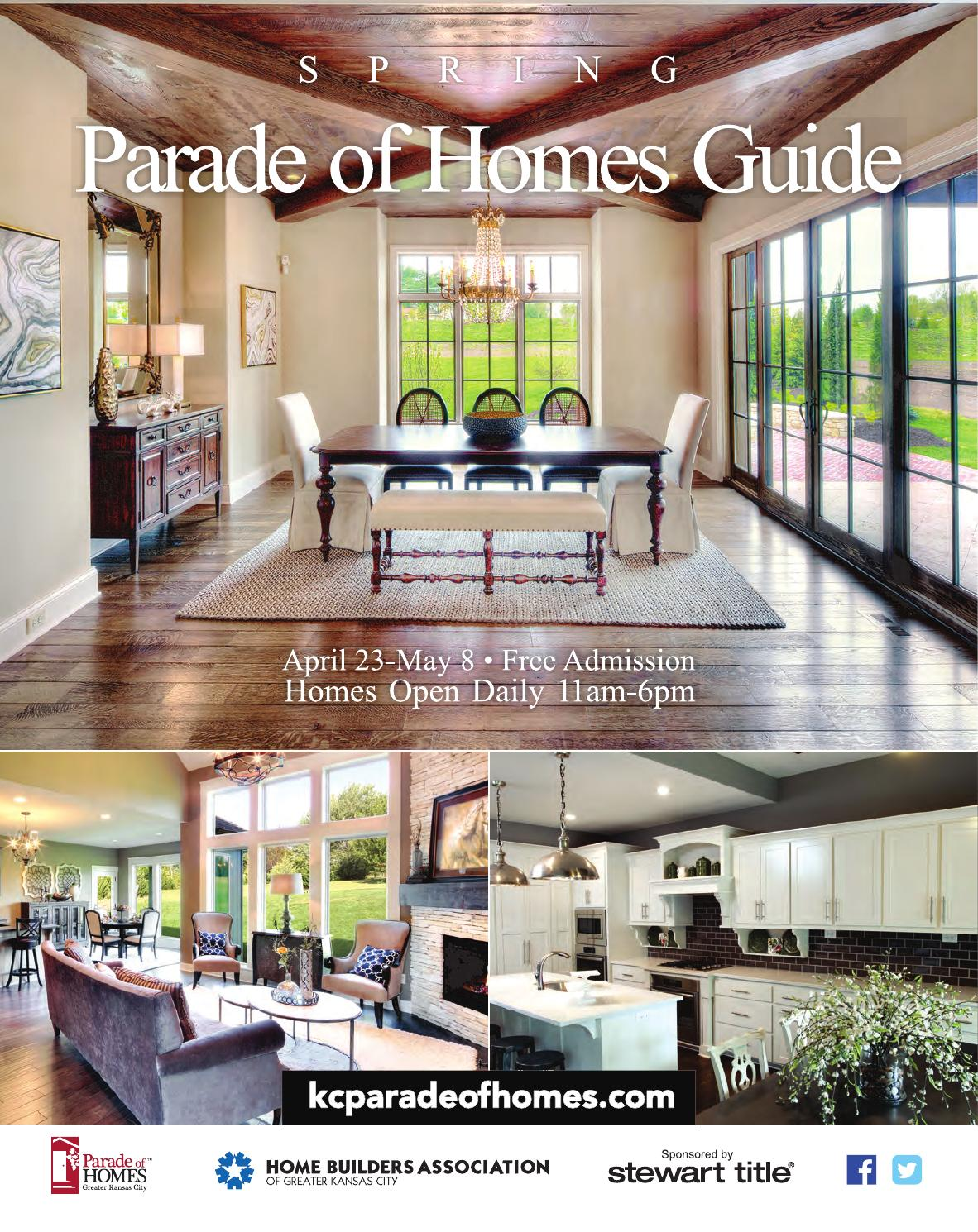 2016 HBA Spring Parade Guide By Home Builders Association Of Greater Kansas City