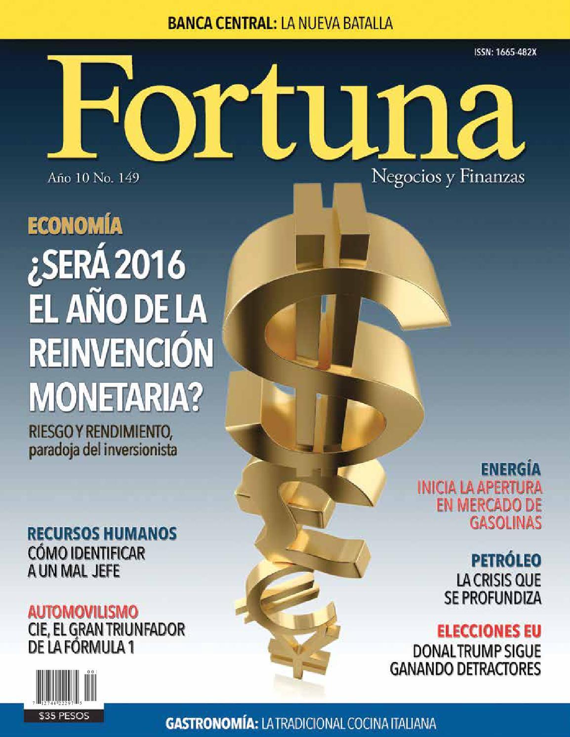 Revista fortuna, negocios y finanzas 149 by Fortuna Revista - issuu