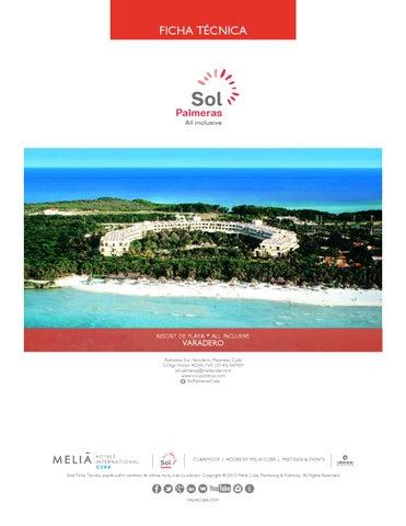 Ficha Técnica Hotel Sol Palmeras By Erick Issuu