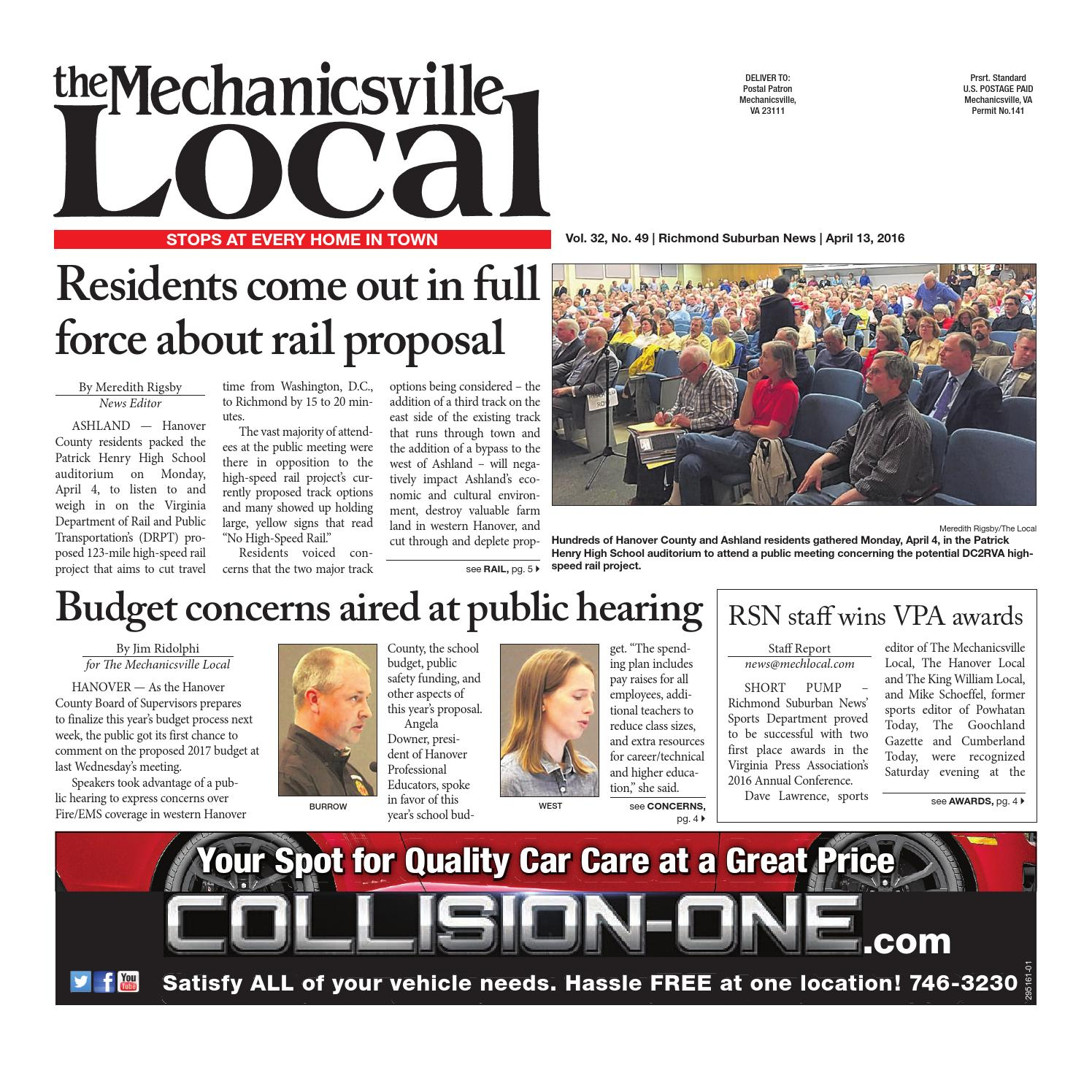 04/13/2016 by The Mechanicsville Local - issuu