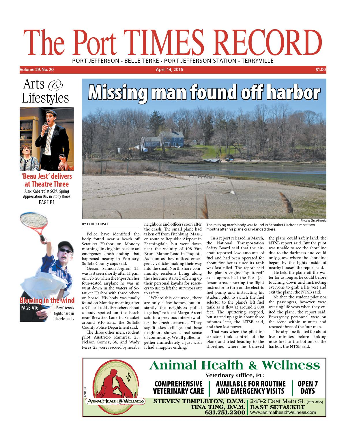 The Port Times Record - April 14, 2016 by TBR News Media - issuu