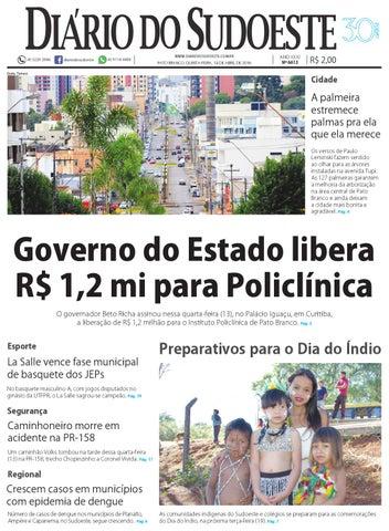 Diário do sudoeste 14 de abril de 2016 ed 6613 by Diário do Sudoeste ... 62bf1c7afebbc