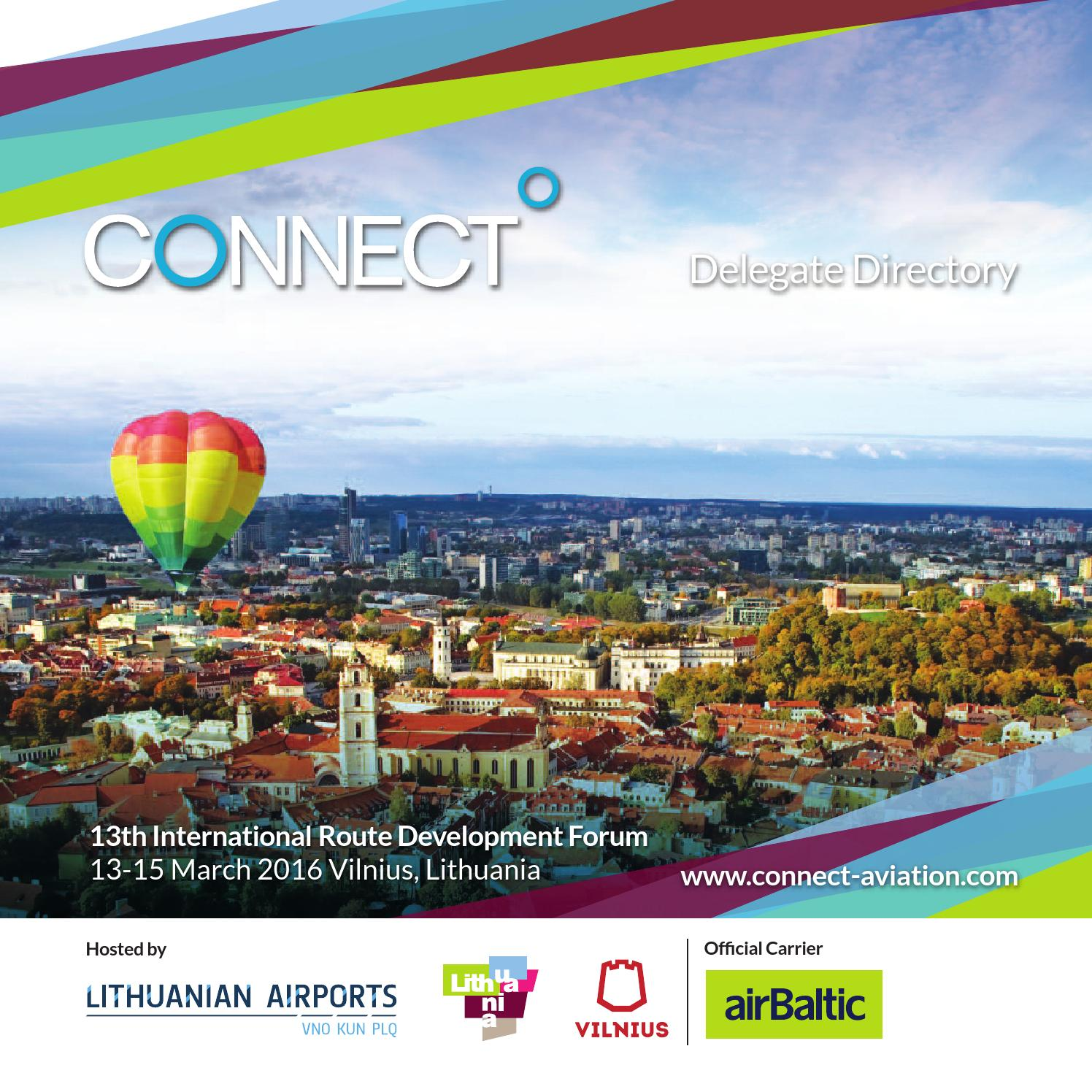 Connect 2016 Directory by The Airport Agency issuu