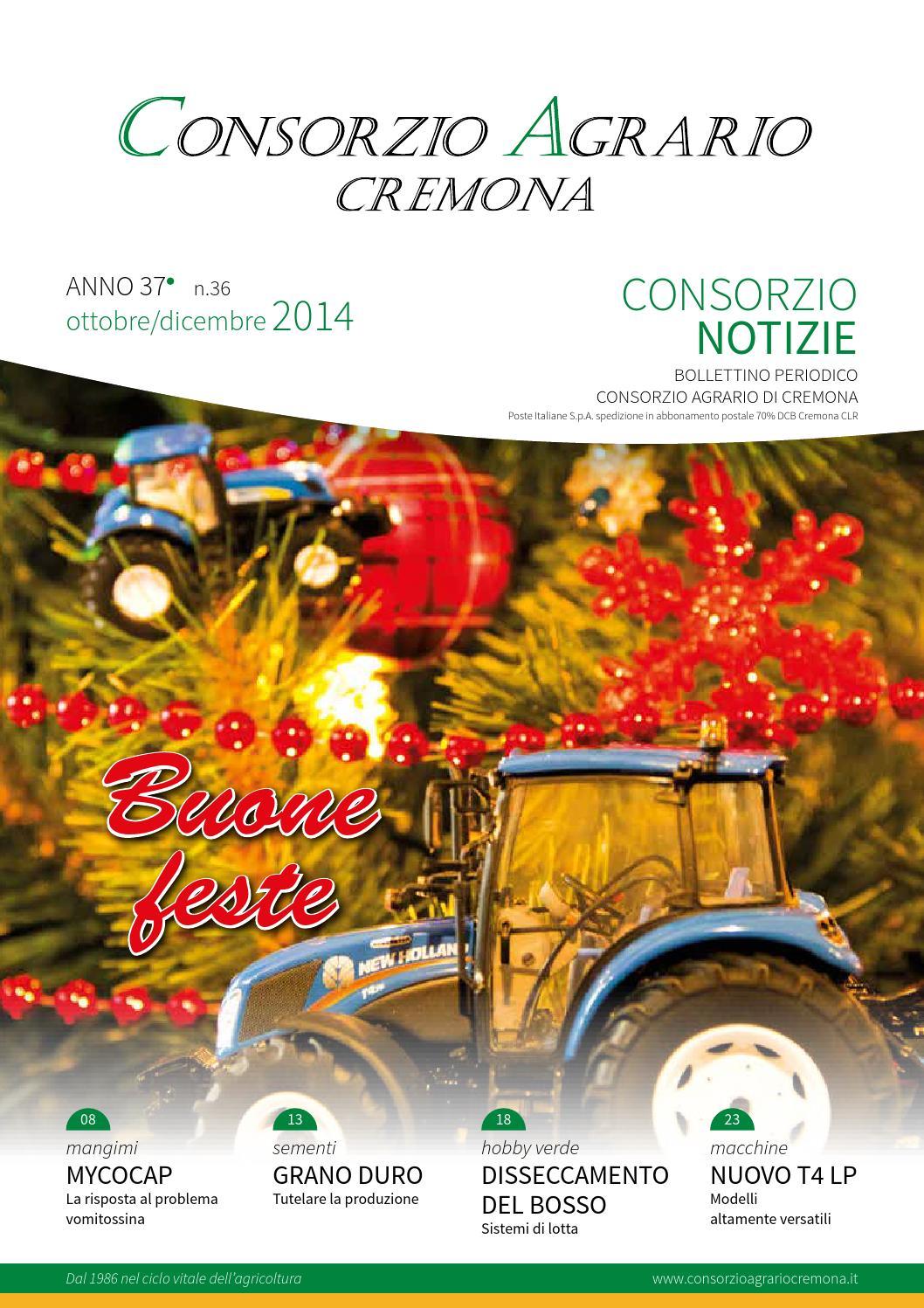 Consorzio notizie n36 natale 2014 by consorzio agrario cremona issuu for Consorzio agrario cremona macchine agricole usate