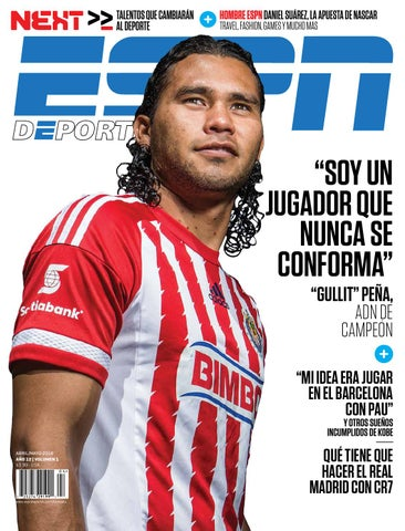 8d42e0949109f ESPN Deportes La Revista - Abril Mayo 2016 by andoni biurrarena - issuu