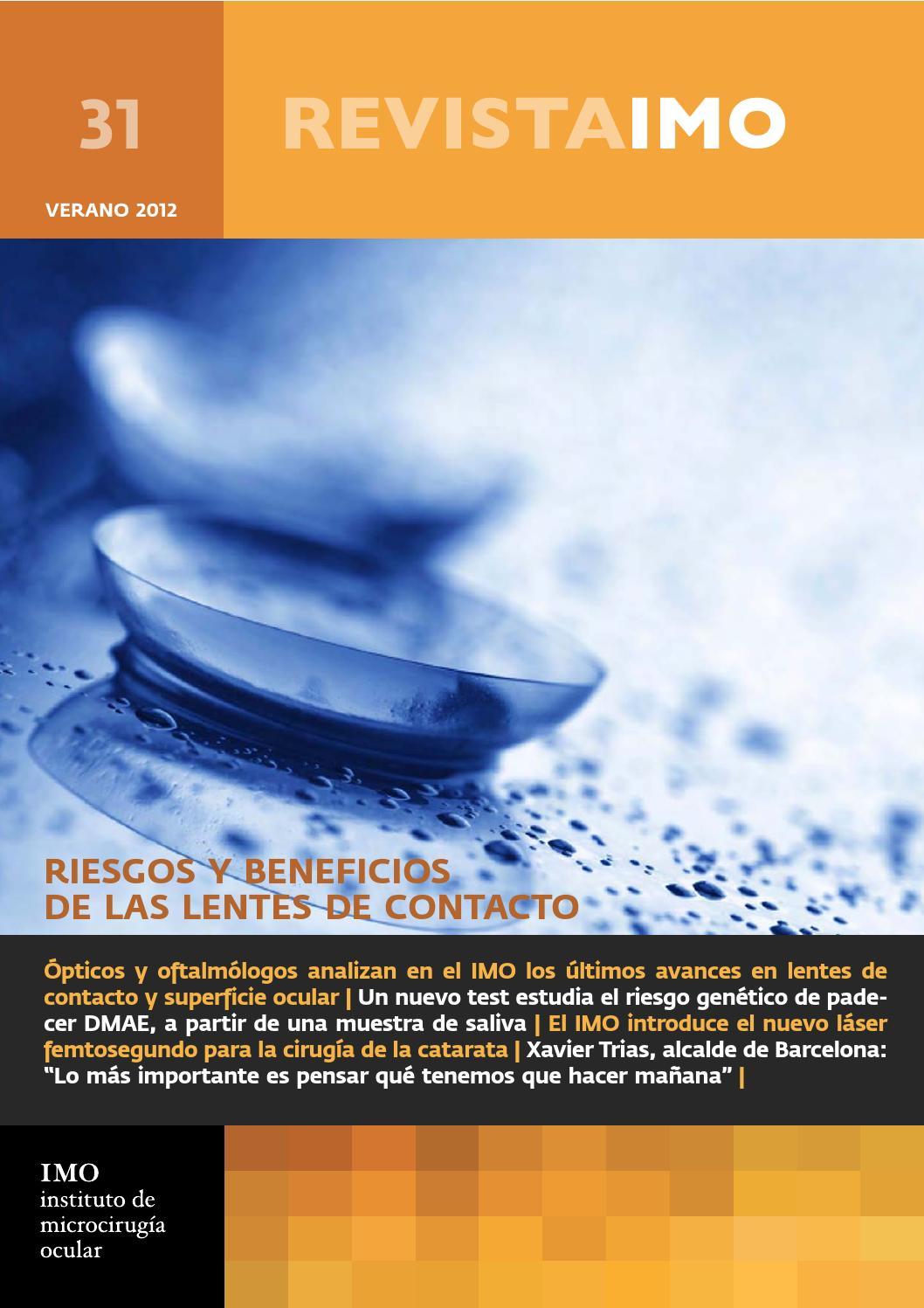 Revista IMO 31 by Instituto de Microcirugía Ocular (IMO) - issuu
