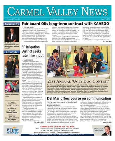 a2bb45405a Carmel valley news 04 14 16 by MainStreet Media - issuu