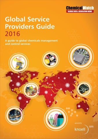 Chemical watch service providers guide 2016 by chemical watch issuu page 1 fandeluxe