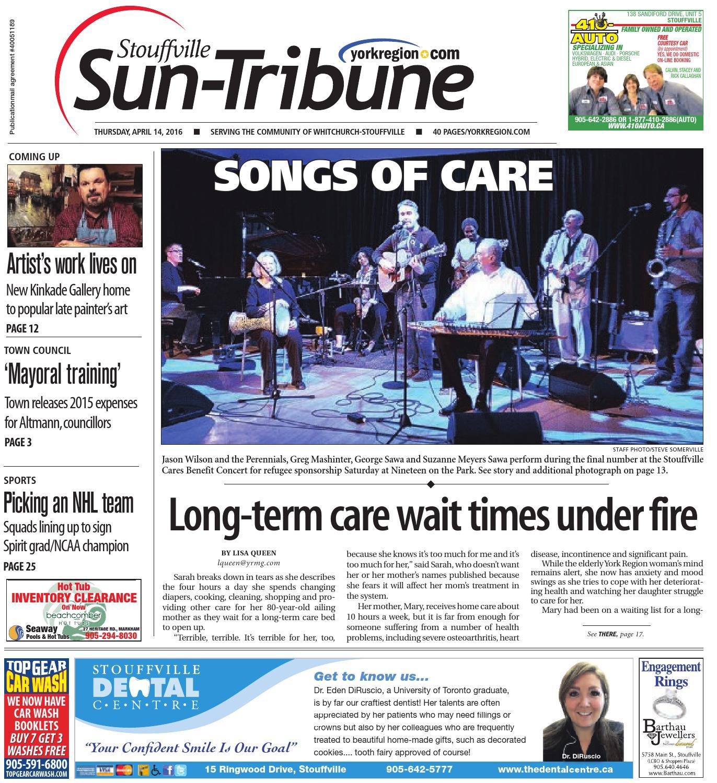stouffville sun april 14 2016 by stouffville sun tribune issuu rh issuu com