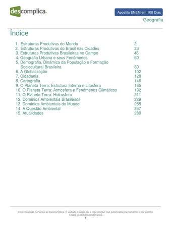 Enemem100dias apostila geografia by Matheus Moura - issuu 593e55eb242c7